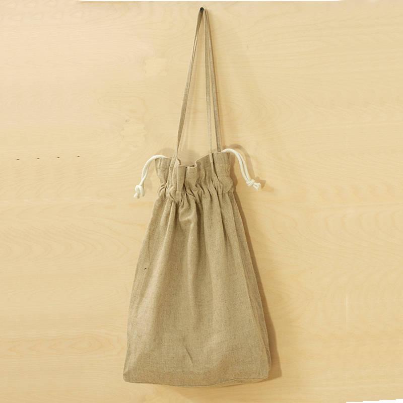 Hemp Pouch Bag With Dori