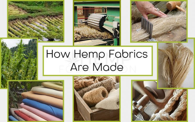 How Hemp Fabrics Are Made