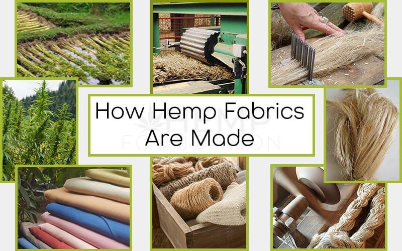 How Hemp Fabrics Are Made