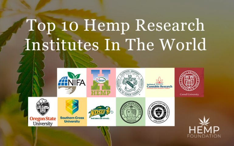 Top 10 Hemp Research Institutes In The World