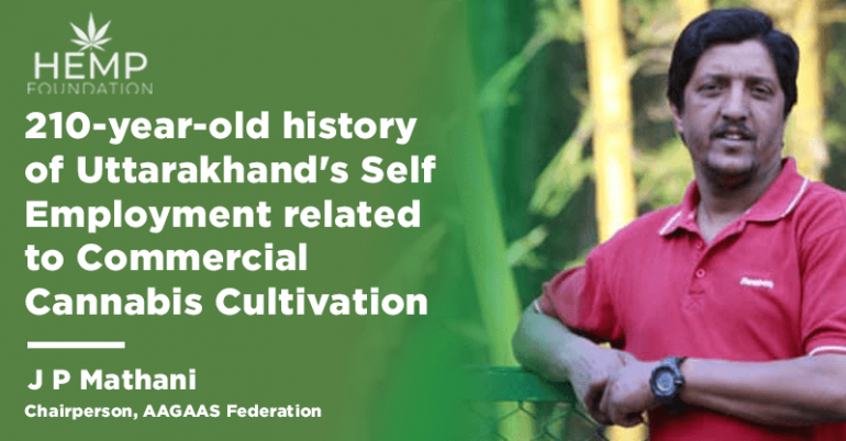 210-year-old history of Uttarakhand's Self Employment related to Commercial Cannabis Cultivation
