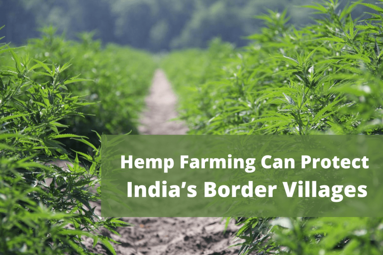 Hemp Farming Can Protect India's Border Villages From Encroachment By Hostile Neighbors