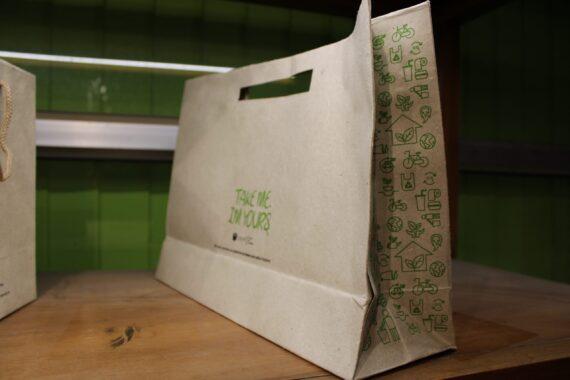 Hemp paper packaging- Shopping Bag