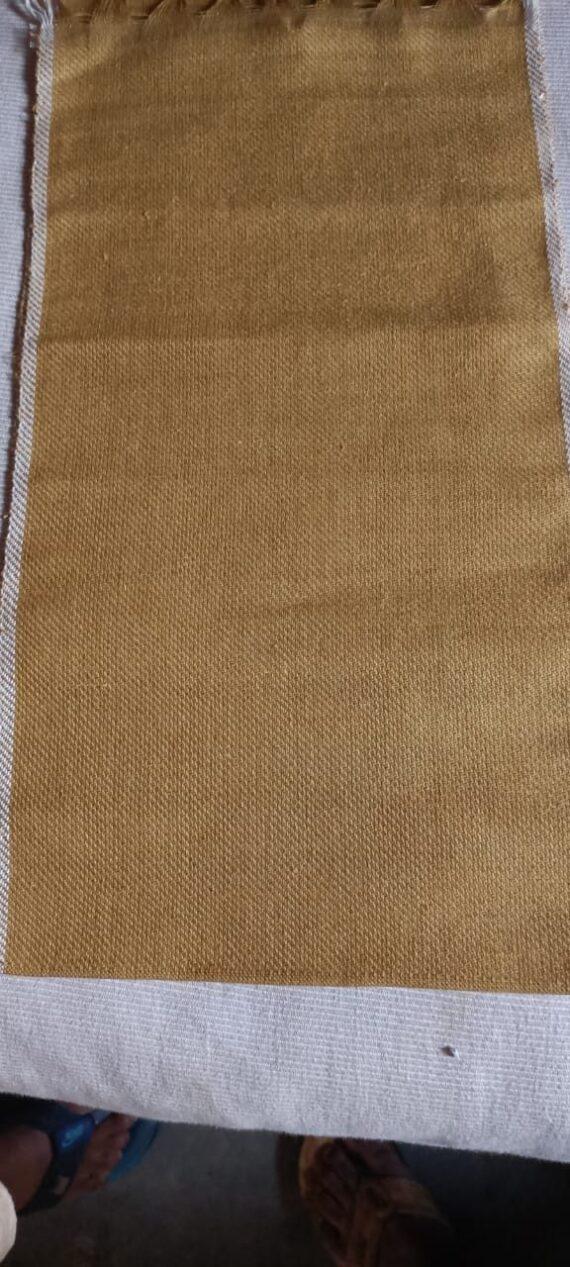 100 % hemp Canvas handloom fabric